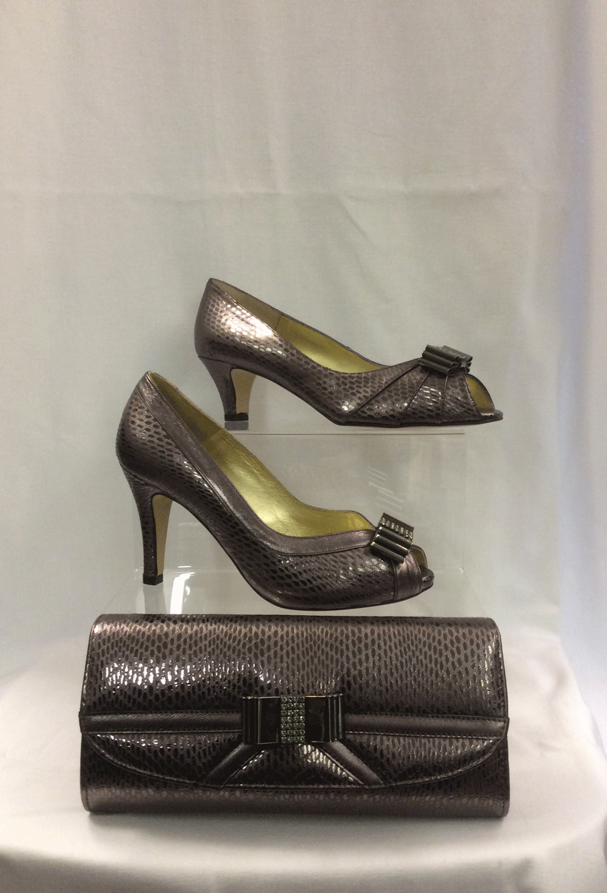 Cream of Royston: Shoes and Bags: Dragon Fusille