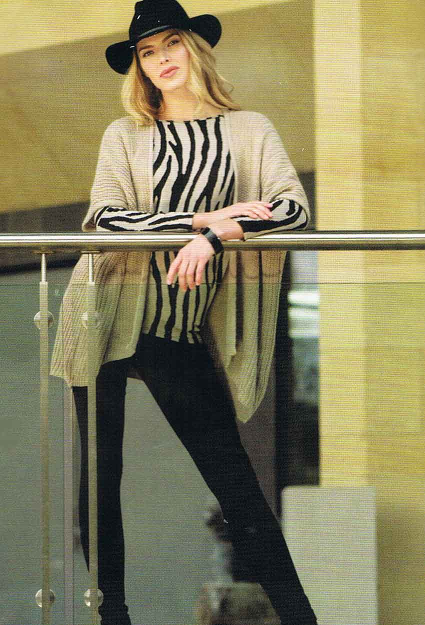 Zebra Tunic & Essential Jeggings