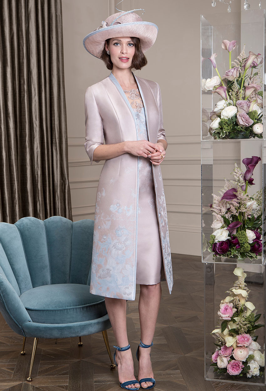 26393D - John Charles Dress with Jacket