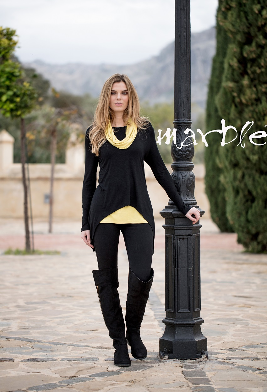5133 Top with vest&scarf