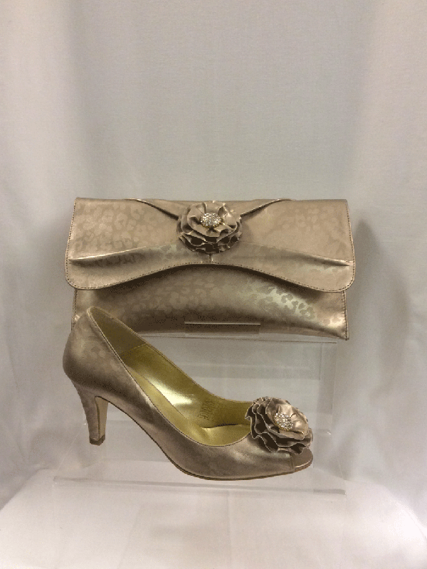 Cream of Royston: Shoes and Bags: Champagne Dragon