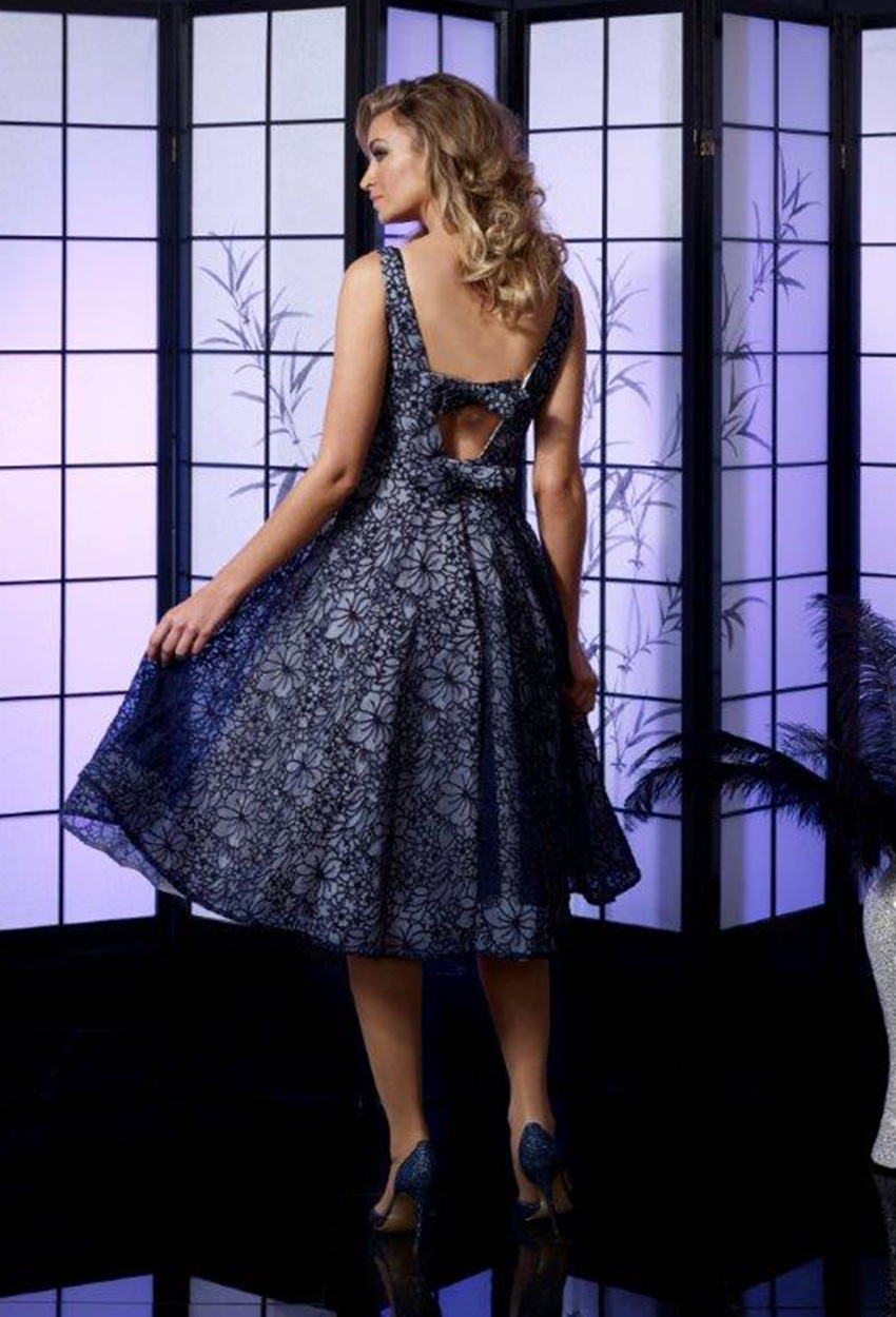VO4996 Veromia Dress Back Navy