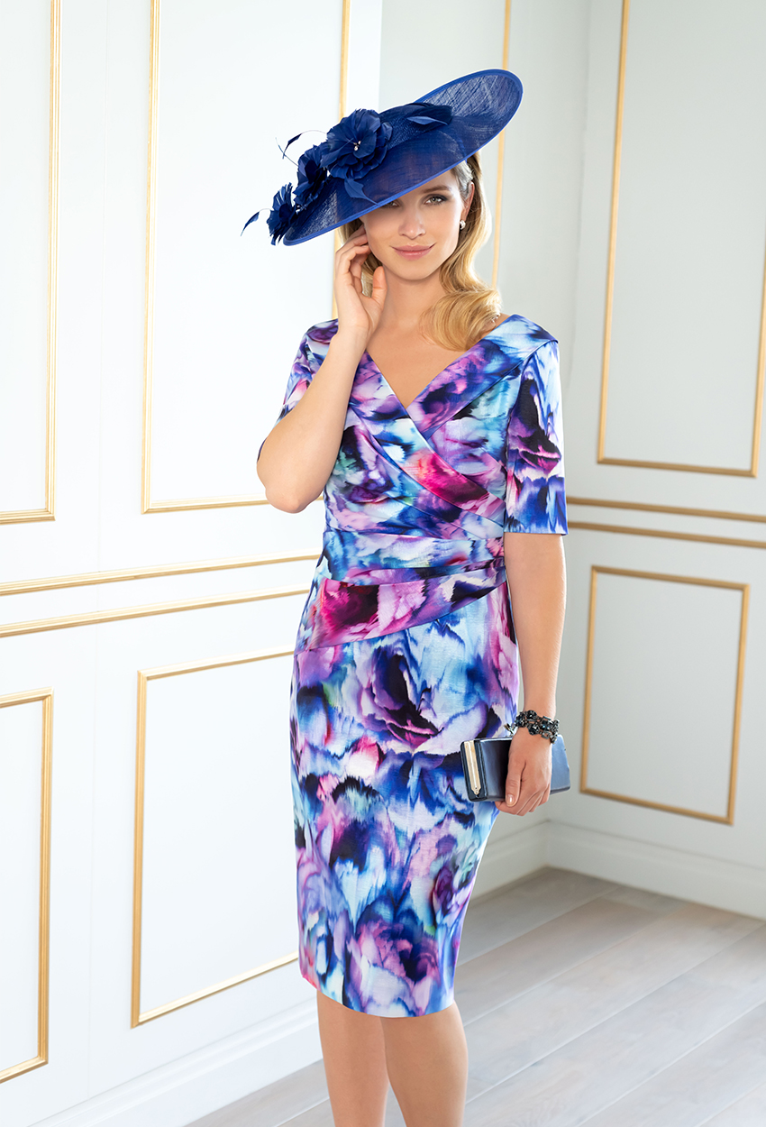 ISE823 Angelica Print Ispirato Dress