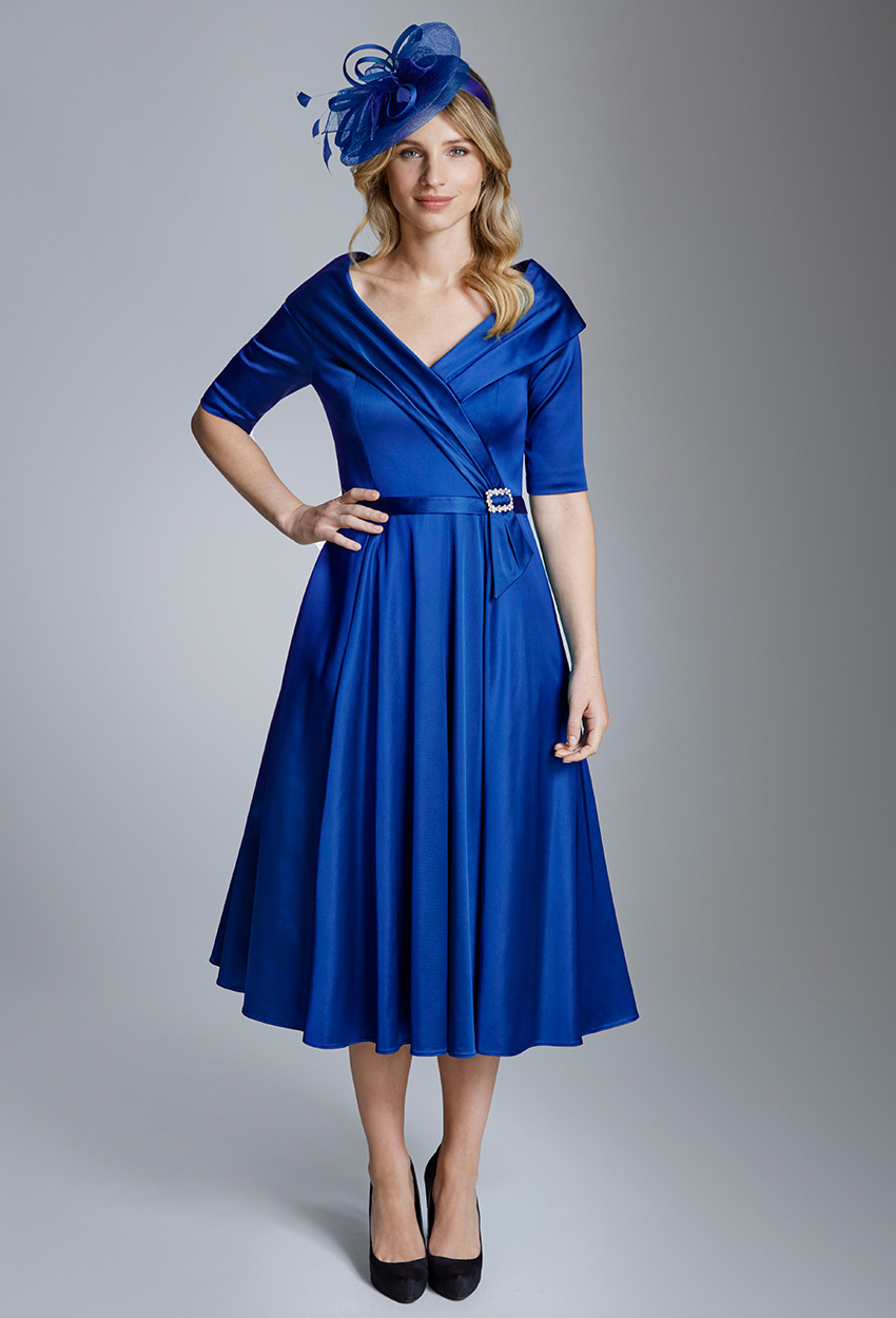 ISE808 Ultramarine Ispirato Dress