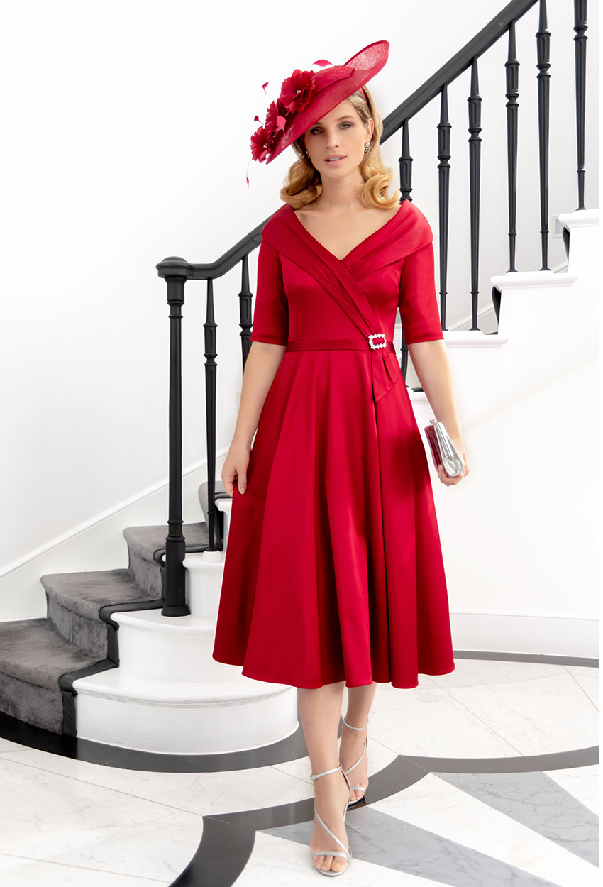 ISE808 Scarlet - Ispirato Dress