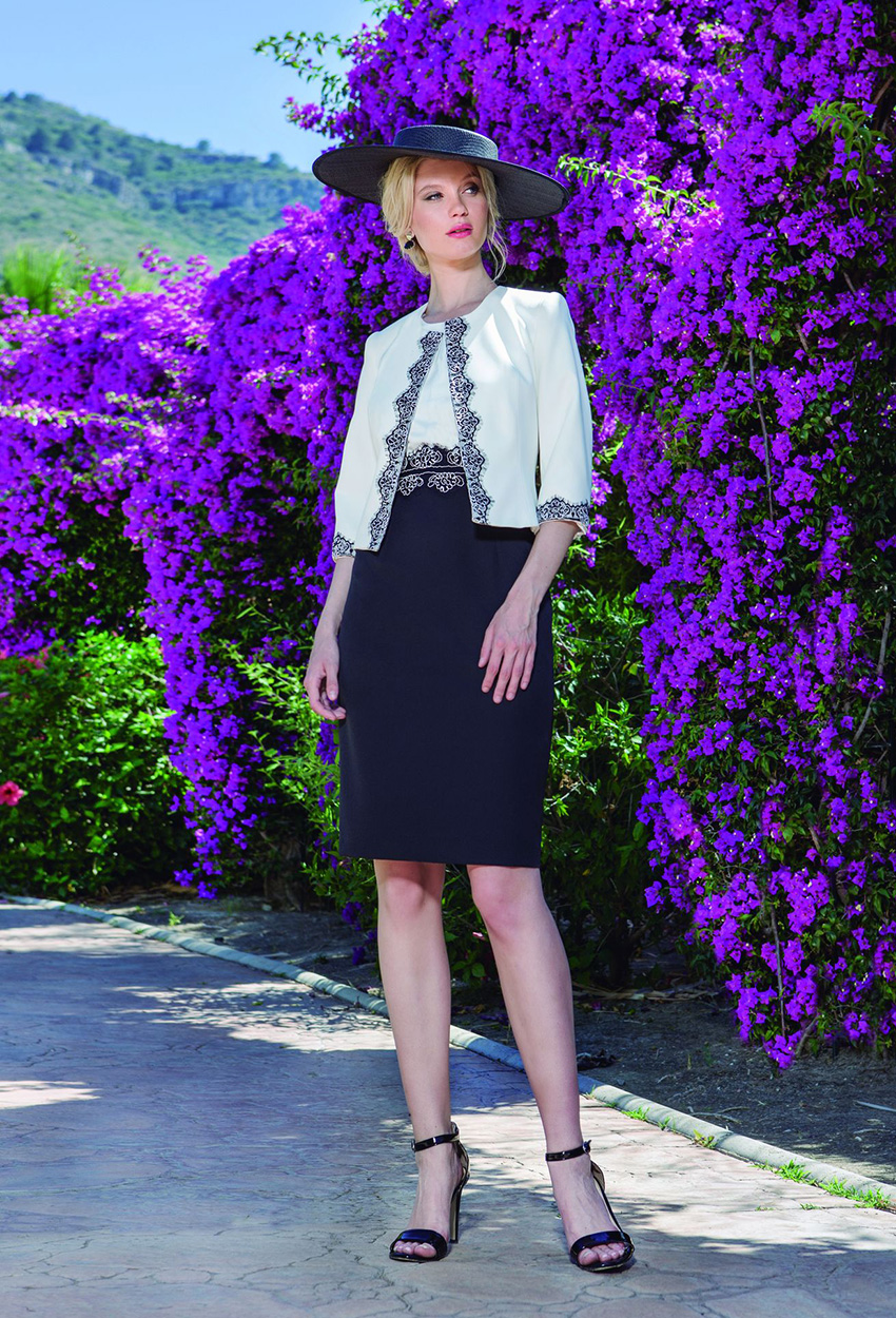 Olimara - V6D7616 Dress and Jacket