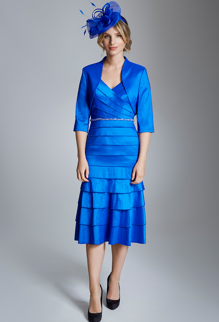 ISE930 Indigo- Ispirato Dress and Jacket